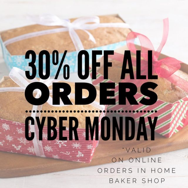 Today only! 30 off all orders in our home bakerhellip